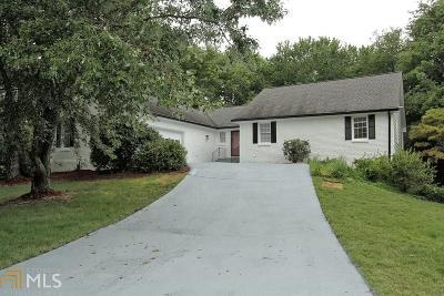 Roswell Single Family Home New: 395 Saddle Creek Cir
