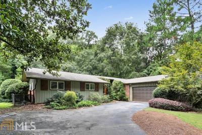 Atlanta Single Family Home New: 1010 Peachtree Battle Cir