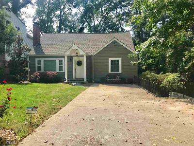 Decatur Single Family Home For Sale: 128 Merrill