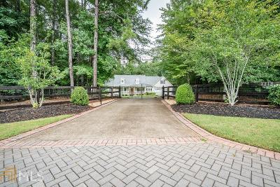 Alpharetta Single Family Home New: 7718 Midway Rd