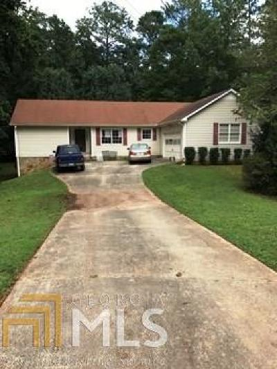 Conyers Single Family Home Under Contract: 2714 SE Club Forest Dr