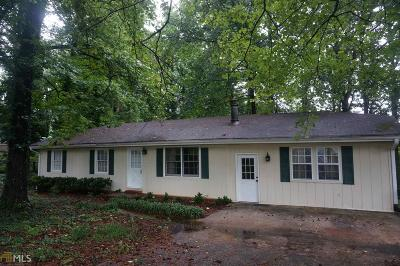 Buford Single Family Home Under Contract: 6051 Dogwood Cir