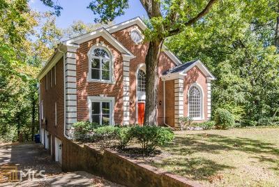 Atlanta Single Family Home New: 1661 Mt Paran Rd