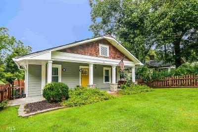 Atlanta Single Family Home New: 1516 Glenwood Ave