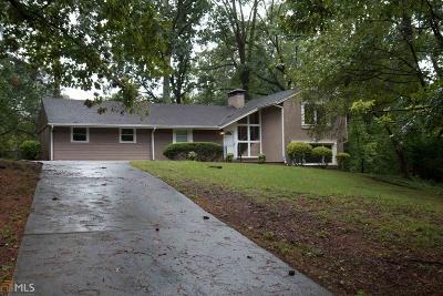 Stone Mountain Single Family Home For Sale: 5259 Hugh Howell Rd