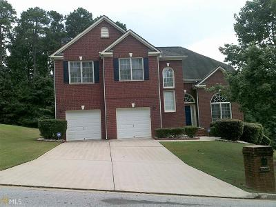 Stone Mountain Single Family Home New: 6329 Southland Trce