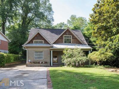 Atlanta Single Family Home New: 1399 Christmas Ln