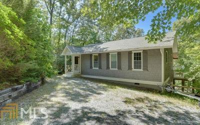 Rabun County Single Family Home Back On Market: 44 Durango Ln