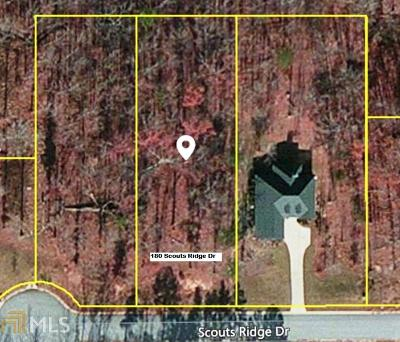 Covington Residential Lots & Land For Sale: 180 Scouts Ridge