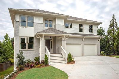 Atlanta Single Family Home New: 2675 Sugar Mill Dr