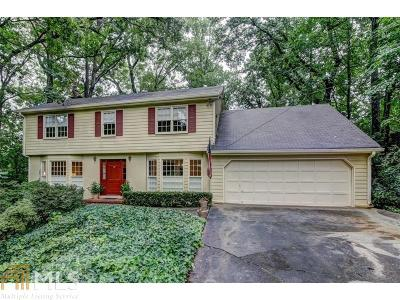 Sandy Springs Single Family Home For Sale: 5655 Windy Ridge Dr