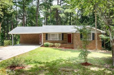 Stone Mountain Single Family Home New: 1394 Rockbridge Rd