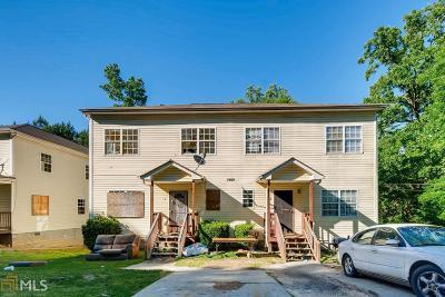 Fulton County Multi Family Home Under Contract: 1969 Jones