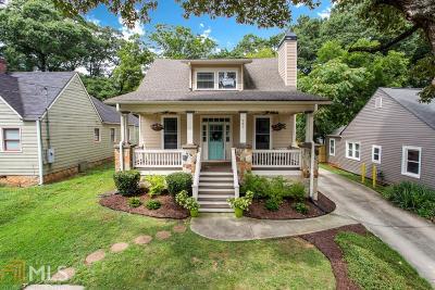 Atlanta Single Family Home New: 267 Patterson Ave