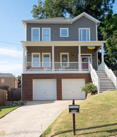 Atlanta Single Family Home New: 218 SE South Ave