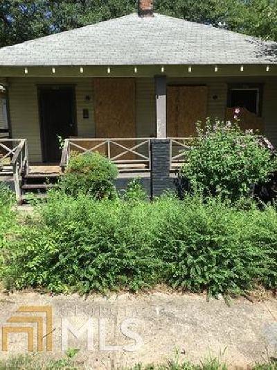 Atlanta Single Family Home New: 966 SW Ira