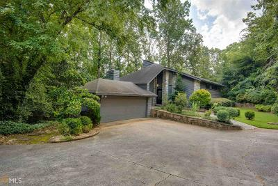 Sandy Springs Single Family Home For Sale: 630 Colebrook Ct