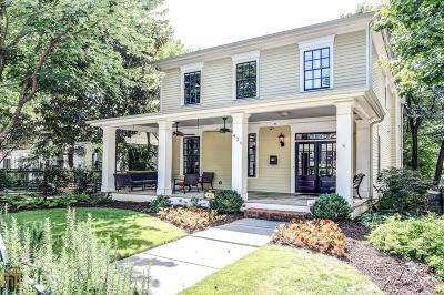Atlanta Single Family Home New: 434 Sinclair Ave