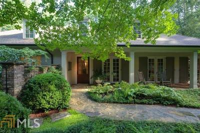 Buckhead Single Family Home For Sale: 2800 Howell Mill Rd