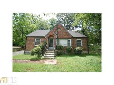 Atlanta Single Family Home New: 2107 Road