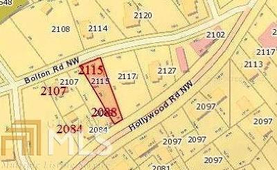 Atlanta Single Family Home New: 2084 Hollywood