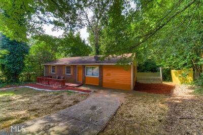Atlanta Single Family Home New: 3590 Collier Dr