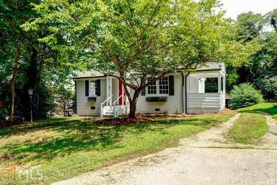 Old Fourth Ward Single Family Home New: 383 Ashley Avenue