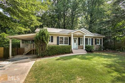 Chamblee Single Family Home For Sale: 4057 E Johnson Cir