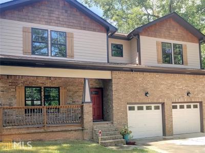 Atlanta Single Family Home New: 2081 Niskey Lake Rd
