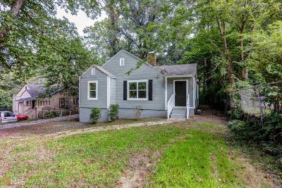 Atlanta Single Family Home New: 2047 Baker Rd