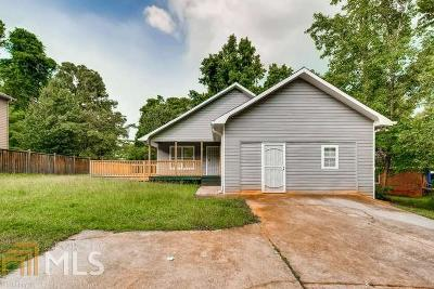 Decatur Single Family Home New: 1592 Snapfinger Rd
