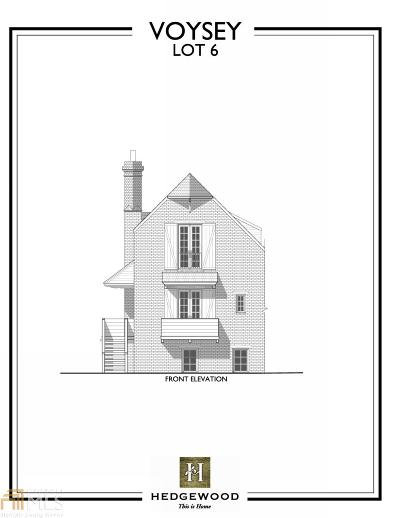 Alpharetta GA Single Family Home New: $618,100