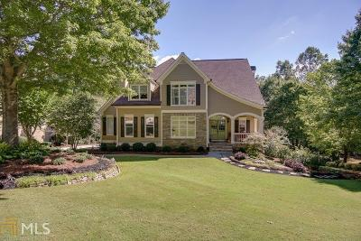 Milton Single Family Home New: 570 Hickory Oaks Ct