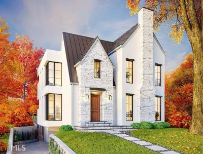 Atlanta Single Family Home New: 1322 Lanier Blvd
