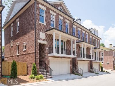 Atlanta Condo/Townhouse New: 3700 Peachtree Rd #8