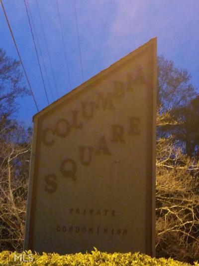 Decatur Condo/Townhouse New: 3395 Columbia Trce