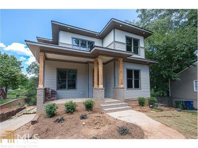 Atlanta Single Family Home New: 2266 Sutton