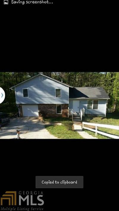 Ellenwood Single Family Home For Sale: 4000 Chimney Ridge Way