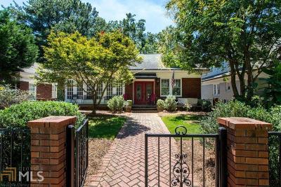 Morningside Single Family Home For Sale: 1280 N Morningside Dr
