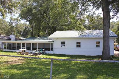 Jasper County Single Family Home For Sale: 284 Lakeshore Dr