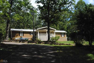 Waleska Single Family Home For Sale: 455 Rock House Rd