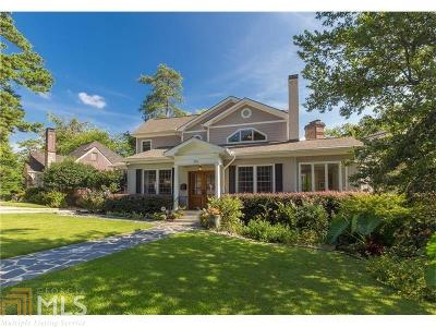 Ansley Park Single Family Home For Sale: 306 Beverly Rd