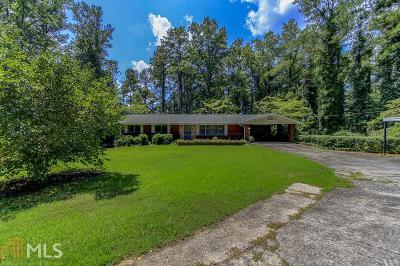 Fairburn Single Family Home For Sale: 6500 Cedar Grove Rd