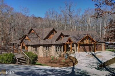 Bartow County, Cherokee County, Coweta County, Dawson County, Fannin County, Fayette County, Forsyth County, Gilmer County, Hall County, Newton County, Paulding County, Rockdale County, Walton County Single Family Home For Sale: 3480 Cook Rd