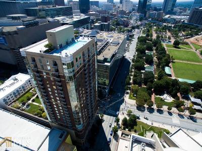 Atlanta Condo/Townhouse For Sale: 285 NW Centennial Olympic Park Dr #404