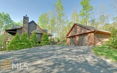 Towns County Single Family Home For Sale: 6955 Fly Rod Ln