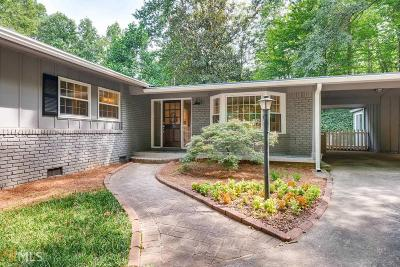 Sandy Springs Single Family Home For Sale: 435 Highbrook Dr