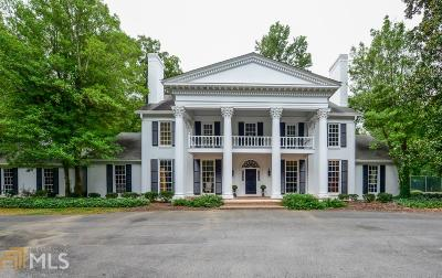 Buckhead Single Family Home For Sale: 4122 Paces Ferry Rd