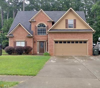 Kennesaw Single Family Home For Sale: 2814 Summer Stream Dr
