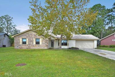 Kingsland GA Single Family Home For Sale: $153,900